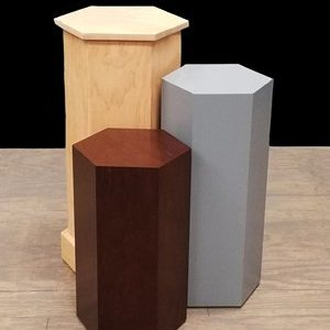 Hexagon Pedestals